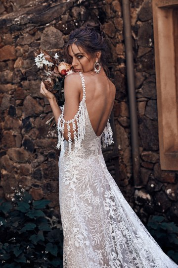 Free-Spirited Bohemian Icon Wedding Dress Collection by Graces Loves Lace | Sol 1