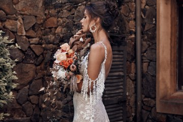 Free-Spirited Bohemian Icon Wedding Dress Collection by Graces Loves Lace | Sol 6