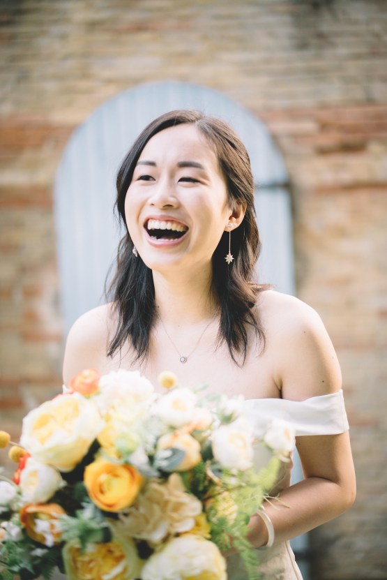 French Sunflower Wedding Inspiration | Teri B Photography 18