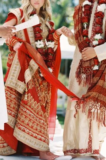 Hindu American Fusion Wedding (With Peonies) | Bramble and Vine 19