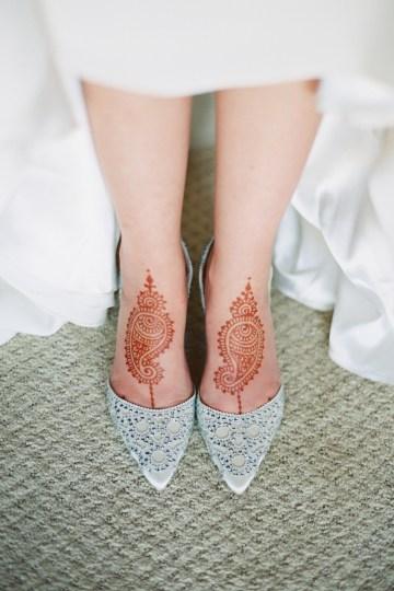 Hindu American Fusion Wedding (With Peonies) | Bramble and Vine 27