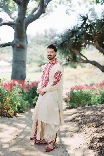 Hindu American Fusion Wedding (With Peonies) | Bramble and Vine 8