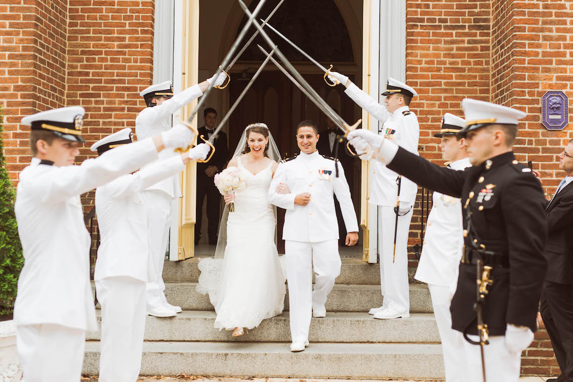Nautical Military Wedding | Susie & Becky 10