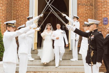 Nautical Military Wedding | Susie & Becky 10