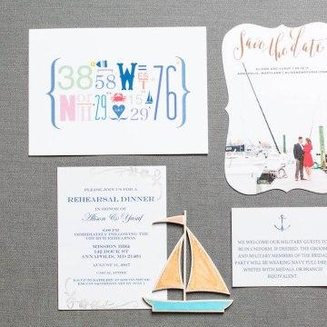 Nautical Military Wedding | Susie & Becky 2