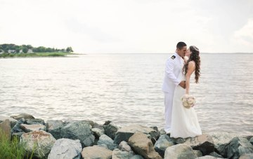 Traditional Military Wedding With Nautical Decor