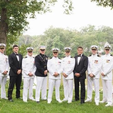 Nautical Military Wedding | Susie & Becky 4