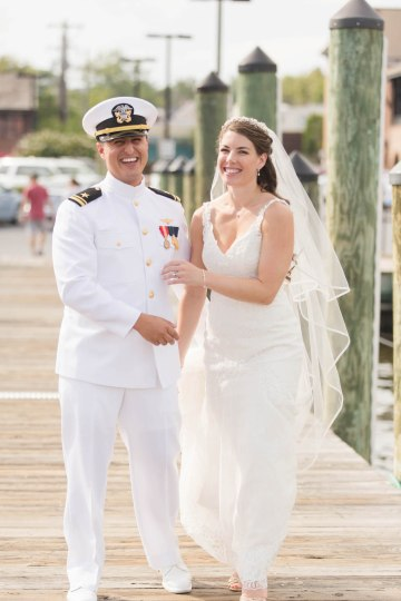 Nautical Military Wedding | Susie & Becky 46