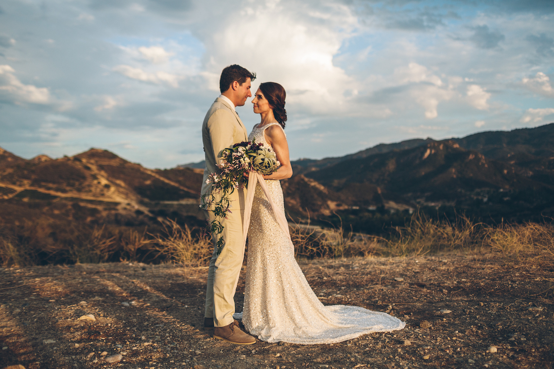 Rich & Rustic Malibu Mountains Ranch Wedding Inspiration | Vitae Weddings 31