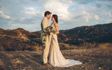 Rich & Rustic Mountain Ranch Wedding Inspiration