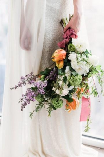 Sparkling Art Deco Wedding Inspiration From NYC | Mibellarosa | Jenny Fu Studio 8