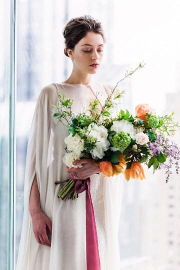 Sparkling Art Deco Wedding Inspiration From NYC | Mibellarosa | Jenny Fu Studio 9