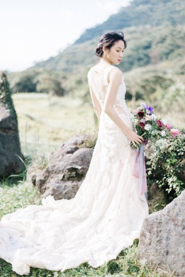 Whimsical Meadow Wedding Inspiration With Dried Florals   Olea & Fig Studio   The Stage Photography 1