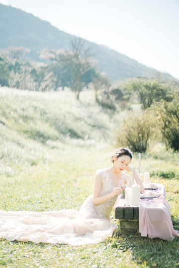 Whimsical Meadow Wedding Inspiration With Dried Florals   Olea & Fig Studio   The Stage Photography 10