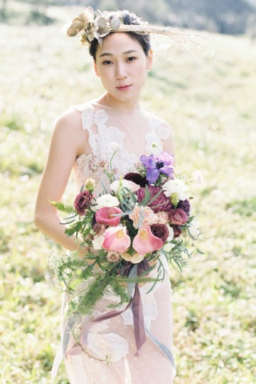 Whimsical Meadow Wedding Inspiration With Dried Florals   Olea & Fig Studio   The Stage Photography 15
