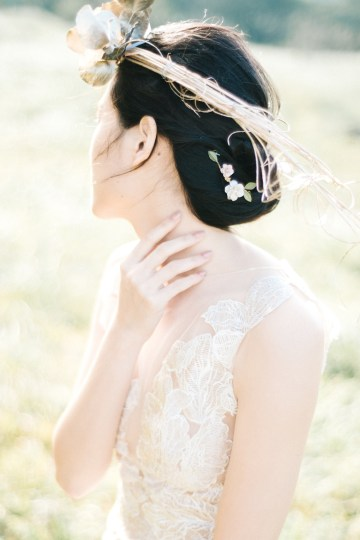 Whimsical Meadow Wedding Inspiration With Dried Florals   Olea & Fig Studio   The Stage Photography 17