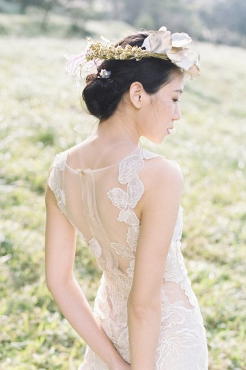 Whimsical Meadow Wedding Inspiration With Dried Florals   Olea & Fig Studio   The Stage Photography 18