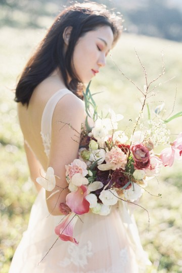 Whimsical Meadow Wedding Inspiration With Dried Florals   Olea & Fig Studio   The Stage Photography 27