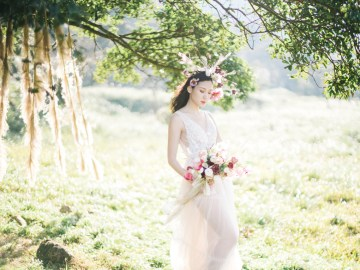 Whimsical Meadow Wedding Inspiration With Dried Florals   Olea & Fig Studio   The Stage Photography 42