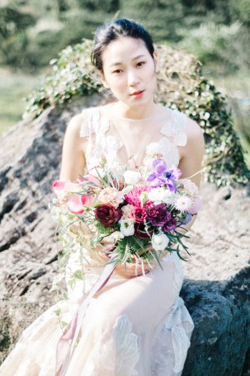 Whimsical Meadow Wedding Inspiration With Dried Florals   Olea & Fig Studio   The Stage Photography 9