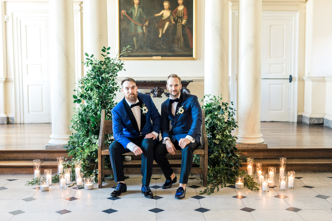 Classic Palace Wedding Inspiration With Sharp Modern Groom Style | Gyan Gurung Photo | Catherine Short Floral Design 39