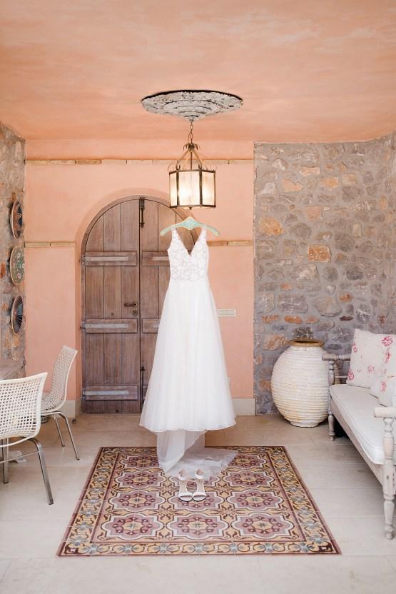 Delightfully Pretty & Wildy Fun Greek Destination Wedding | Penelope Photography 1