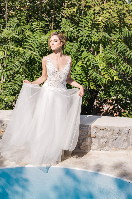 Delightfully Pretty & Wildy Fun Greek Destination Wedding | Penelope Photography 11
