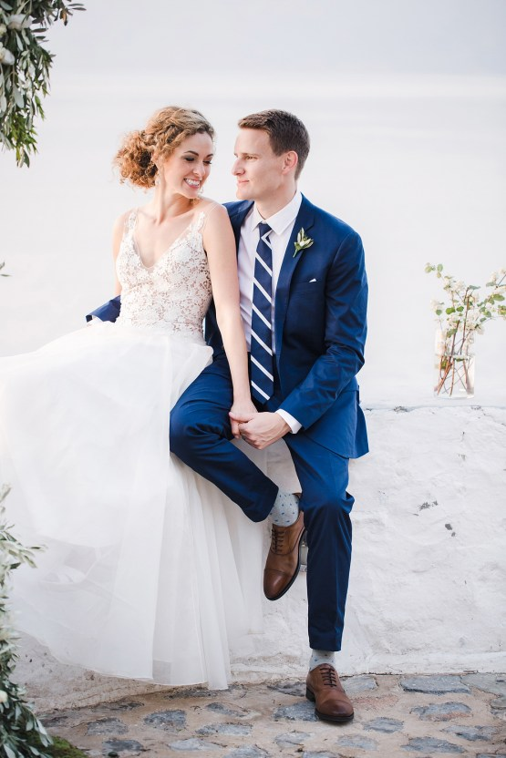 Delightfully Pretty & Wildy Fun Greek Destination Wedding | Penelope Photography 23