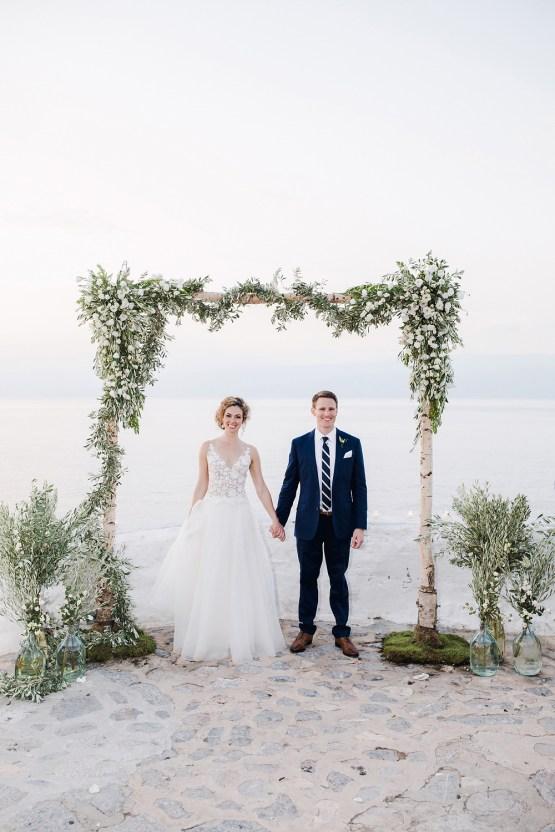 Delightfully Pretty & Wildy Fun Greek Destination Wedding | Penelope Photography 27