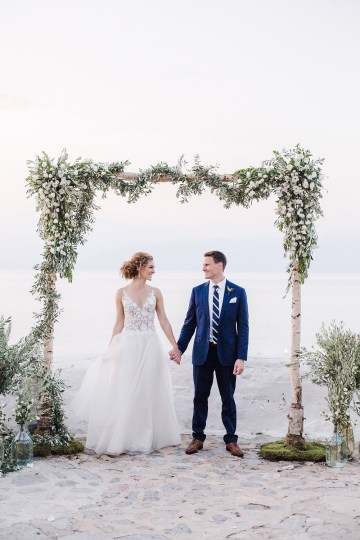 Delightfully Pretty & Wildy Fun Greek Destination Wedding | Penelope Photography 28