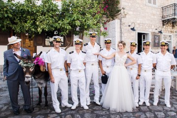 Delightfully Pretty & Wildy Fun Greek Destination Wedding | Penelope Photography 34
