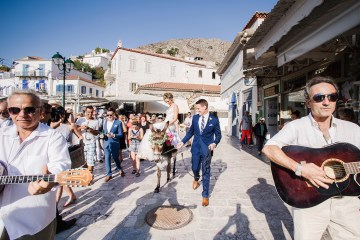 Delightfully Pretty & Wildy Fun Greek Destination Wedding | Penelope Photography 37