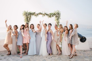Delightfully Pretty & Wildy Fun Greek Destination Wedding | Penelope Photography 42
