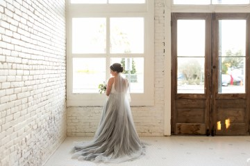 Literary Chic Loft Wedding (With A Harry Potter Cake!)   Brio Photography 18