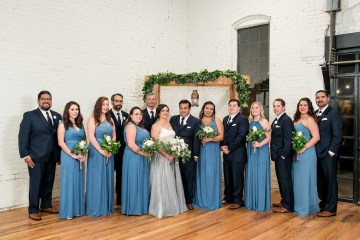 Literary Chic Loft Wedding (With A Harry Potter Cake!)   Brio Photography 21