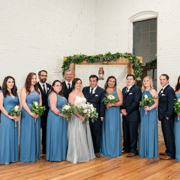 Literary Chic Loft Wedding (With A Harry Potter Cake!) | Brio Photography 21