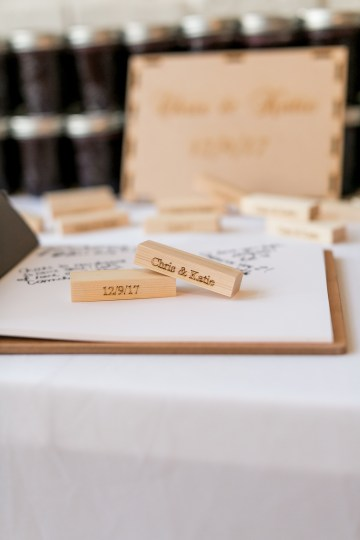 Literary Chic Loft Wedding (With A Harry Potter Cake!)   Brio Photography 23