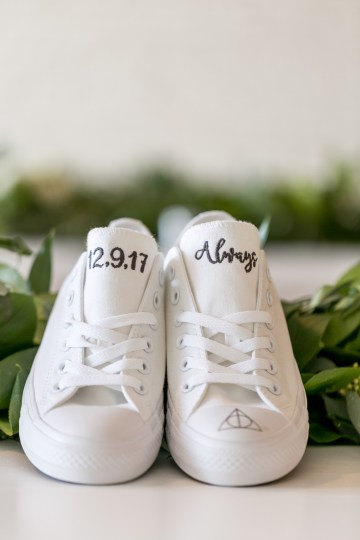 Literary Chic Loft Wedding (With A Harry Potter Cake!) | Brio Photography 24
