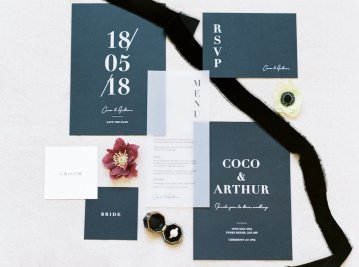 Luxurious Coco Chanel Inspired Wedding Ideas | Bowtie & Belle Photography 33