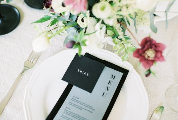 Luxurious Coco Chanel Inspired Wedding Ideas | Bowtie & Belle Photography 37