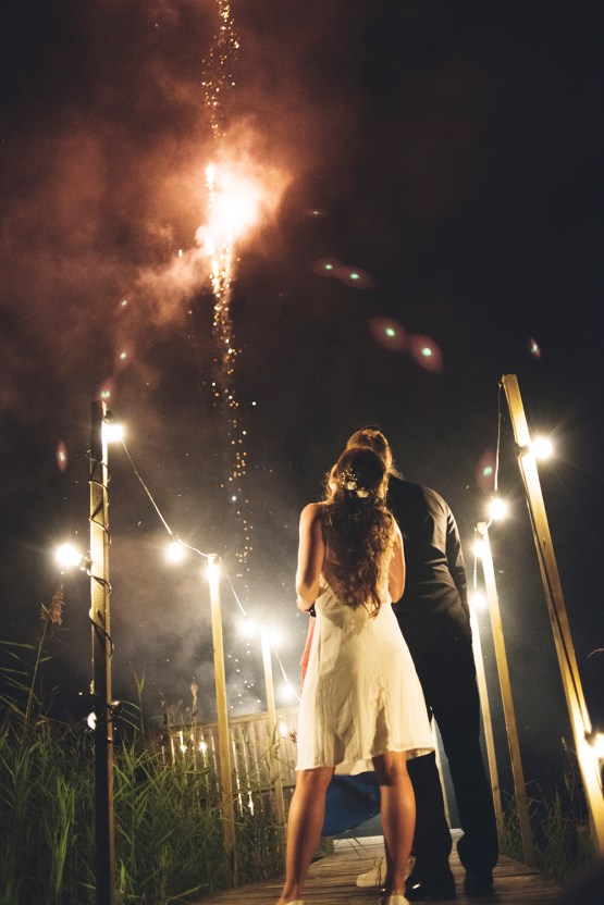 Relaxed & Woodsy Swedish Island Wedding | Sara Kollberg 14
