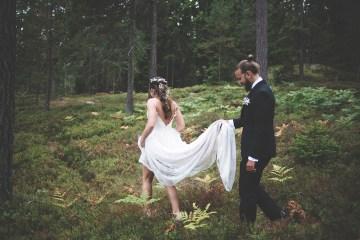 Relaxed & Woodsy Swedish Island Wedding | Sara Kollberg 16