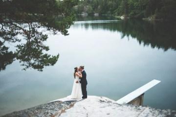Relaxed & Woodsy Swedish Island Wedding | Sara Kollberg 18