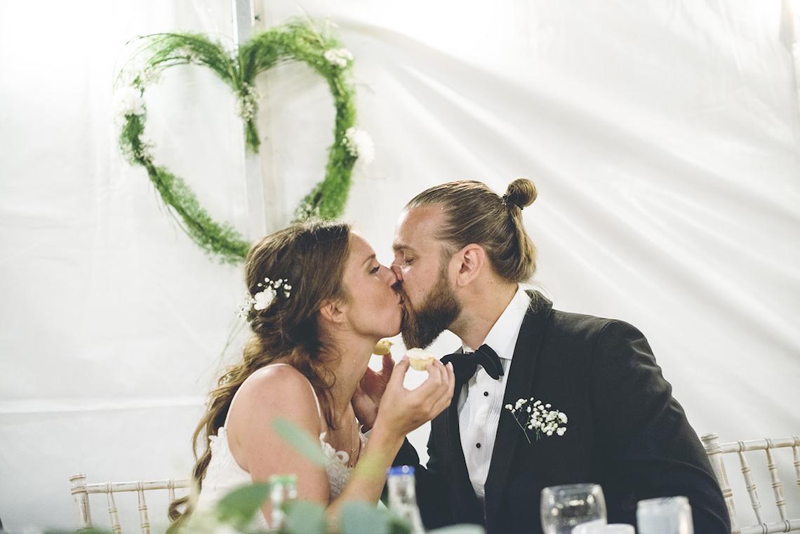 Relaxed & Woodsy Swedish Island Wedding | Sara Kollberg 29