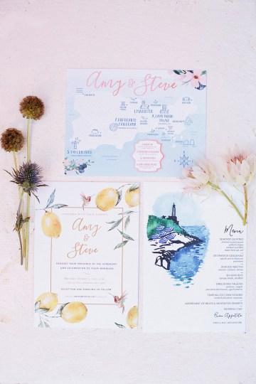 Romantic & Luxe Capri Destination Wedding   Purewhite Photography 57