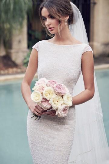 The Romantic & Sparkling Anna Campbell Wanderlust Wedding Dress Collection | Blair Dress-3