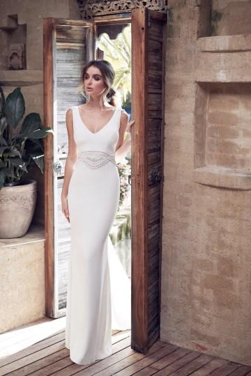 The Romantic & Sparkling Anna Campbell Wanderlust Wedding Dress Collection | Blake Dress-3