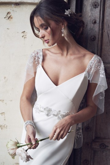 The Romantic & Sparkling Anna Campbell Wanderlust Wedding Dress Collection | Eva Dress-3