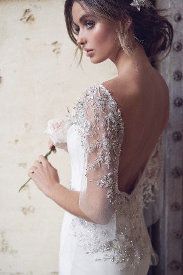 The Romantic & Sparkling Anna Campbell Wanderlust Wedding Dress Collection | Eva Dress-4