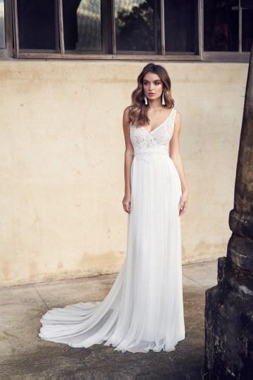 The Romantic & Sparkling Anna Campbell Wanderlust Wedding Dress Collection | Jamie Dress (Silk Tulle)-1